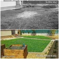 Akkor és most kert