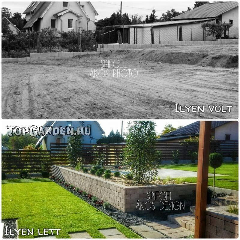 Modern kert - ilyen volt, ilyen lett