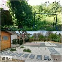 Fűnyítás nélküli kert