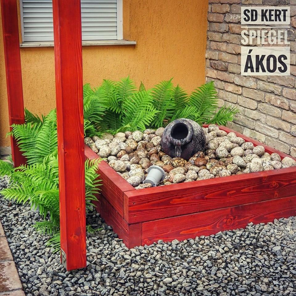 Spiegel Ákos kertépítő