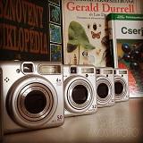 Kerti könyvek és fényképezők