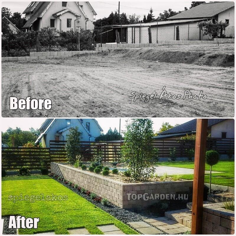 Modern kertépítés